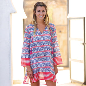 Zula Pink Beach Tunic