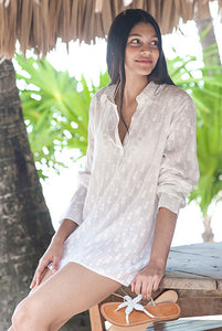 Beach Shirt Tunic Beach Coverup