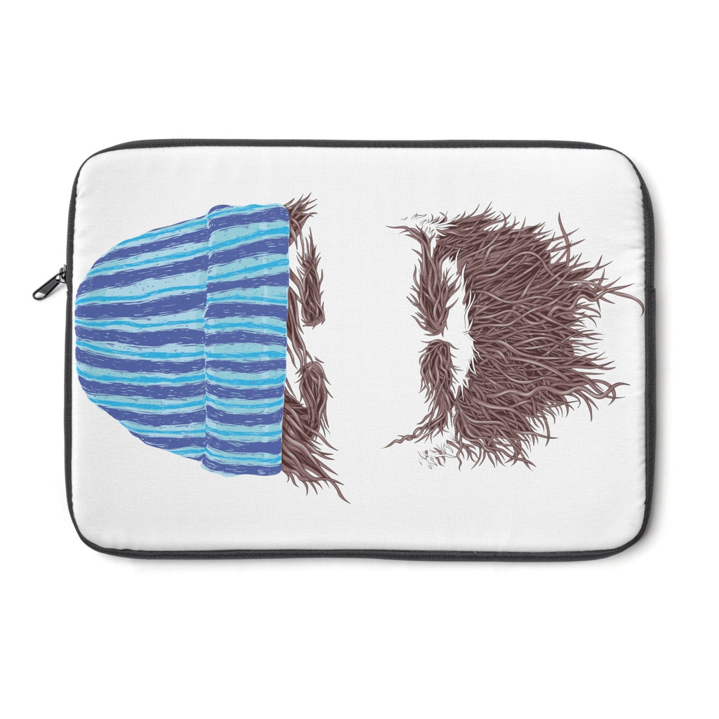 Beanie Beard Laptop Sleeve