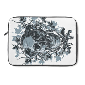 Horned Skull Laptop Sleeve