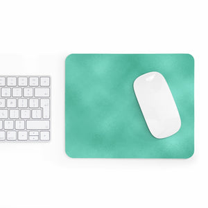 Fresh Green Glow Mousepad