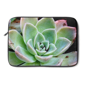 Green Succulent Laptop Sleeve