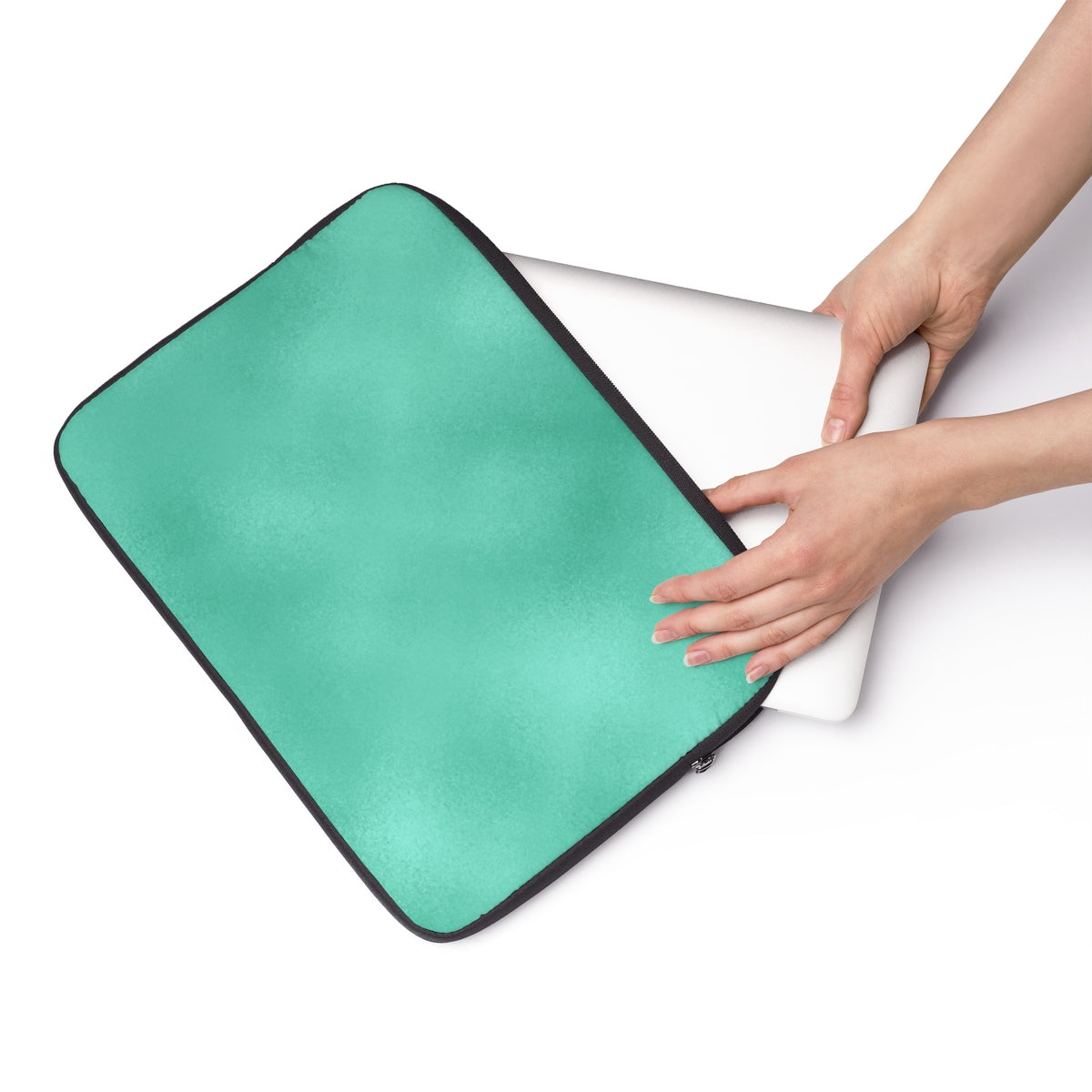 Fresh Green Glow Laptop Sleeve
