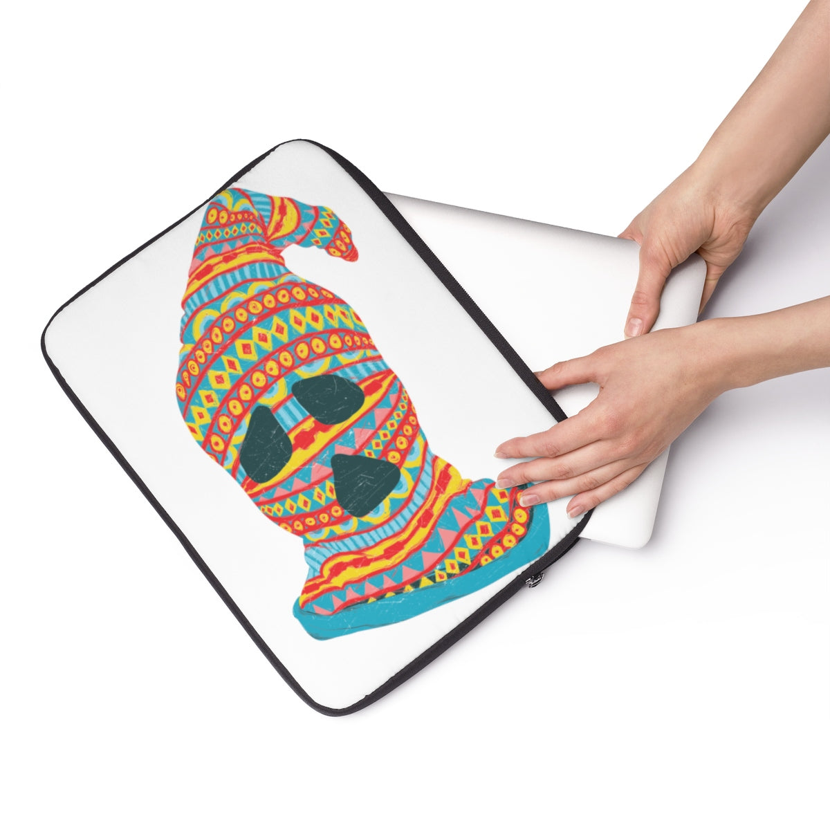 Ghost Face Laptop Sleeve