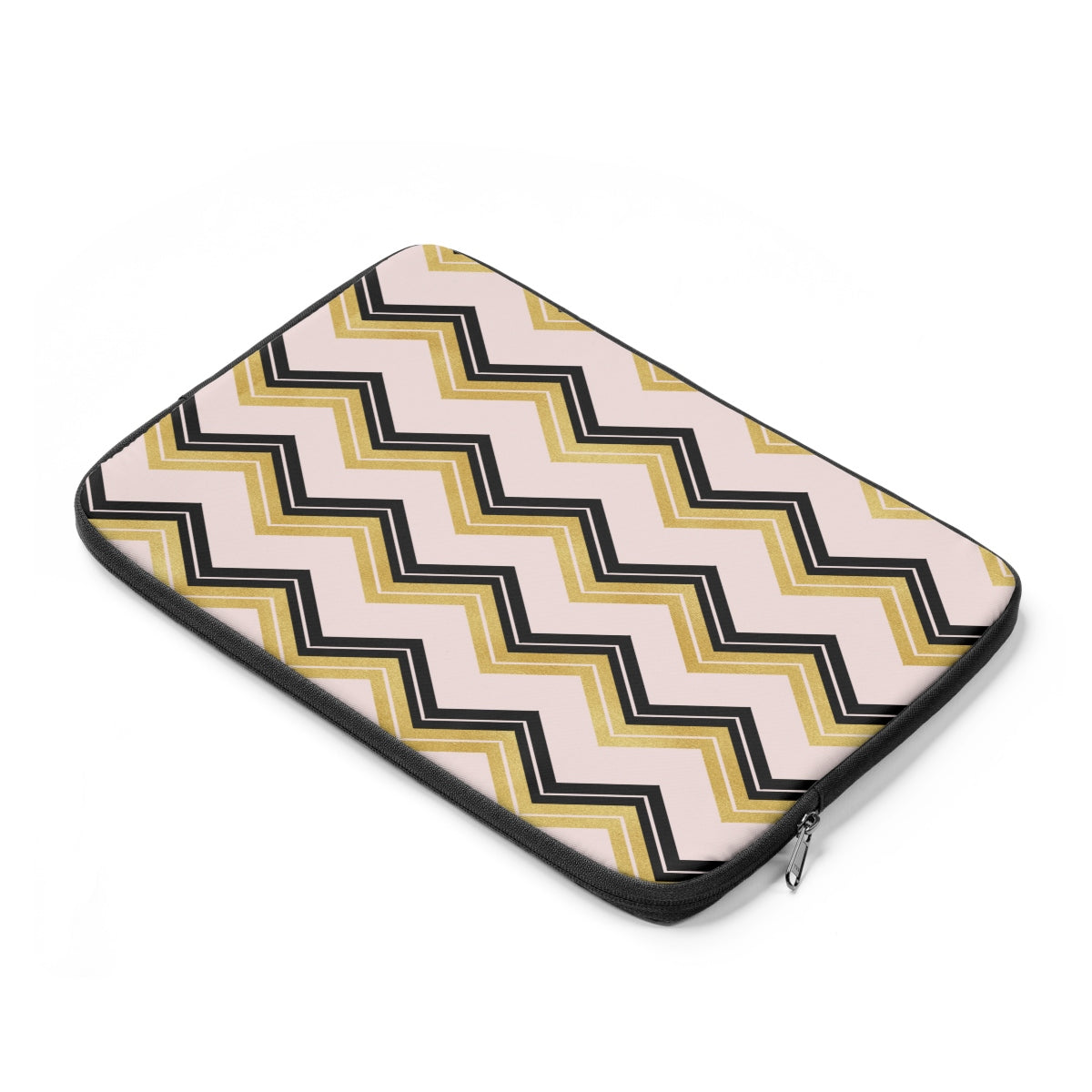 Black and Gold Laptop Sleeve