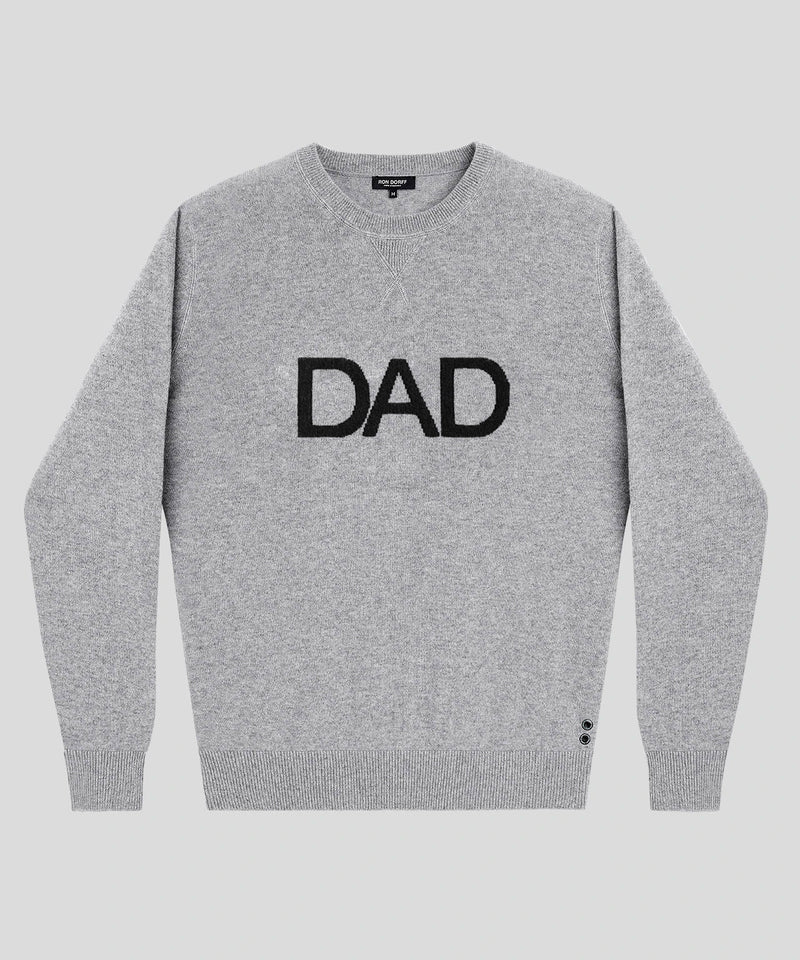 Cashmere Sweatshirt DAD - grey melange