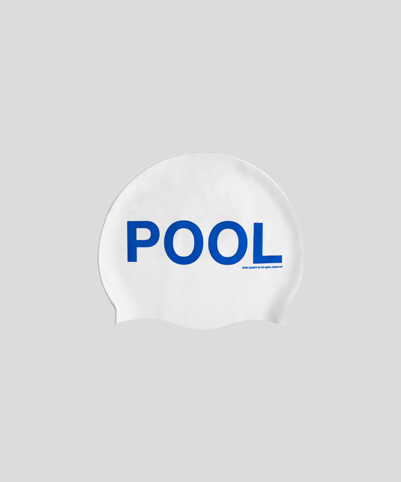Swim Cap POOL BOY - white