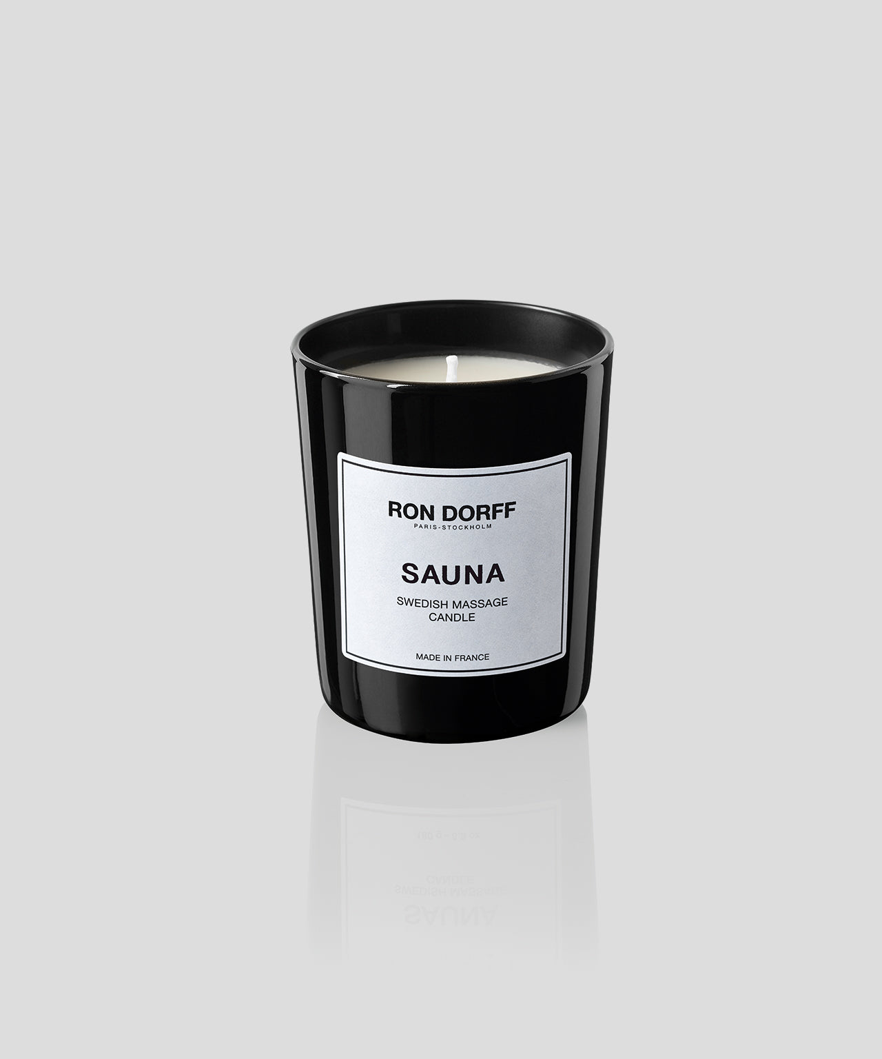 Swedish Massage Candle Sauna - black