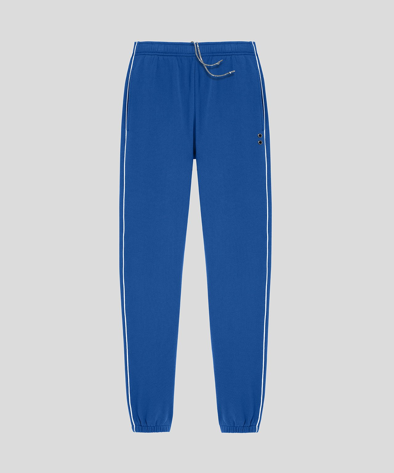 Jogging Trousers Piping - electric blue