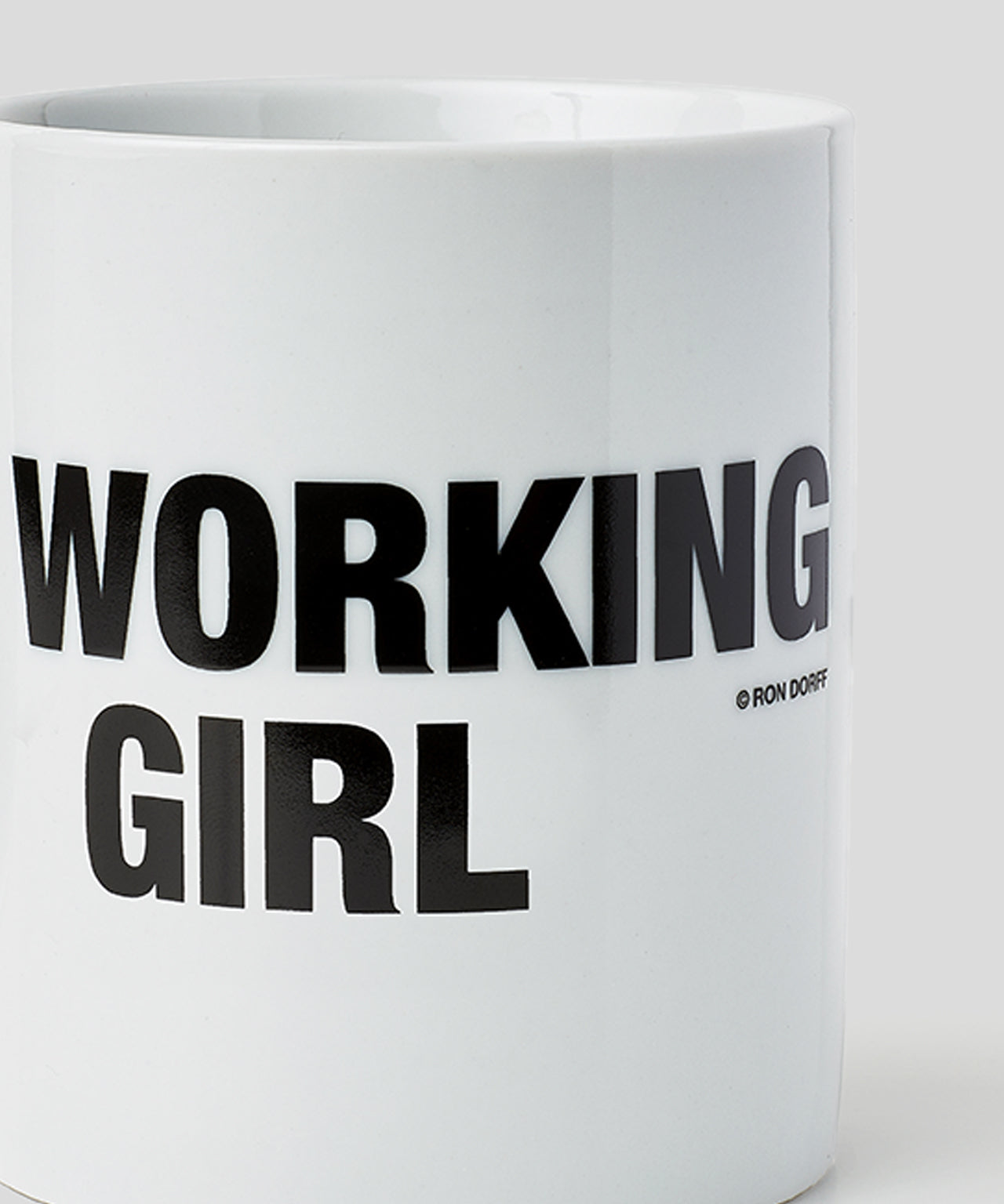 Mug WORKING GIRL - white