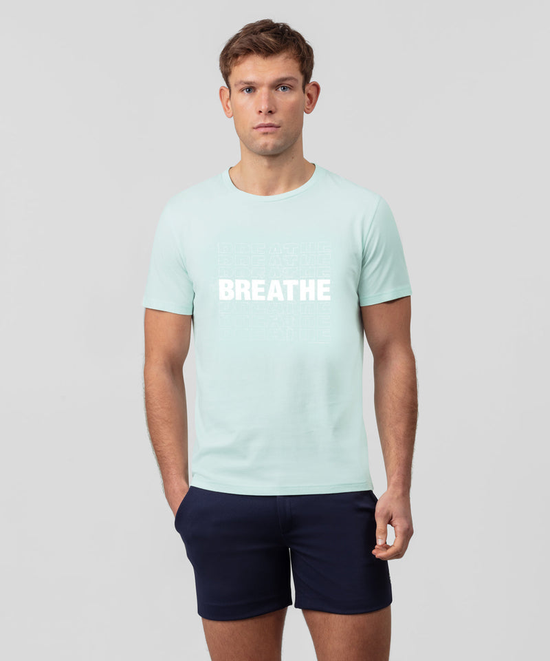 T-Shirt BREATHE - sky blue