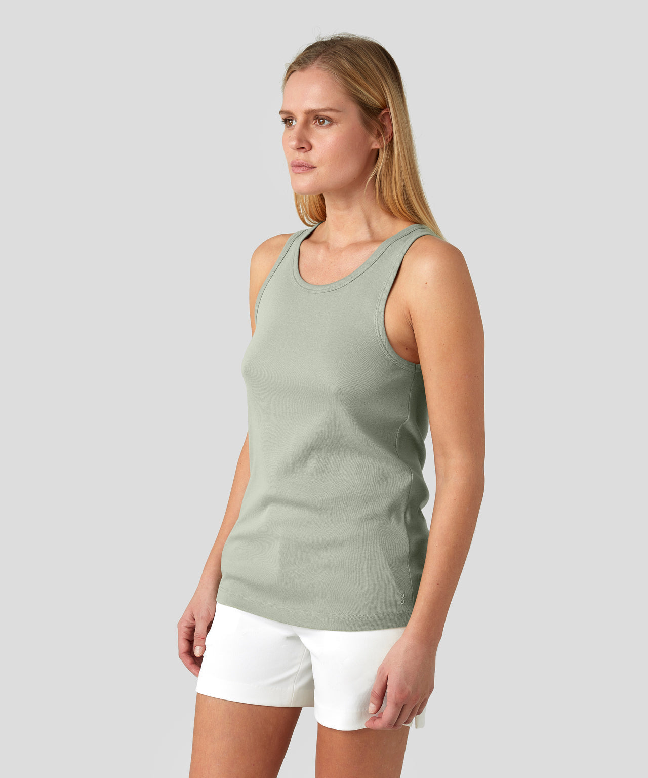 Underwear Tank Top His For Her - light khaki