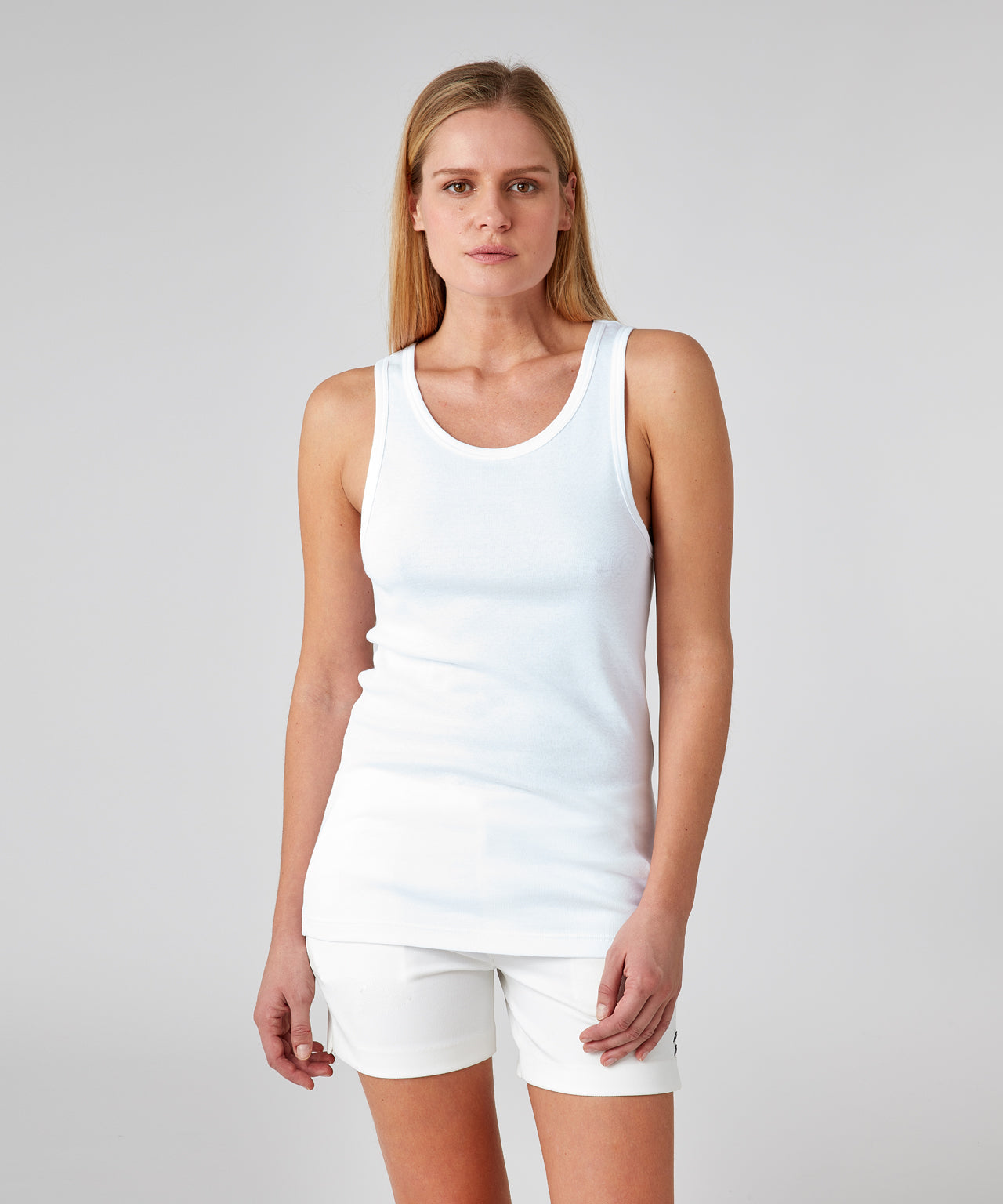 Underwear Tank Top His For Her - white