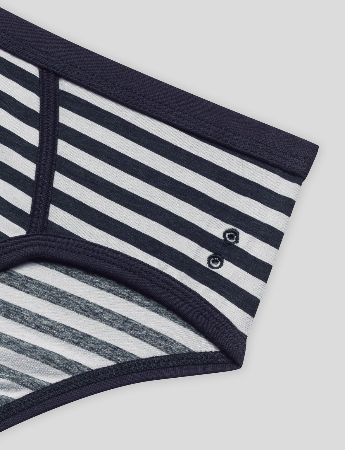 Y-Front Briefs Stripes - navy/white