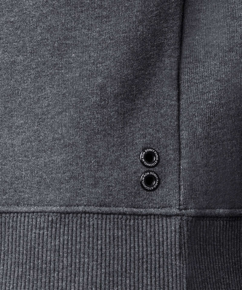 Sweatshirt GENTLE MAN - dark grey melange