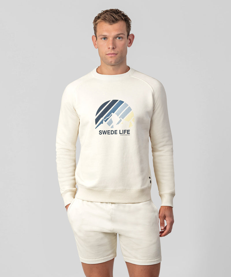 Sweatshirt SWEDE LIFE - off white