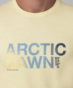 T-Shirt ARCTIC DAWN - sky yellow