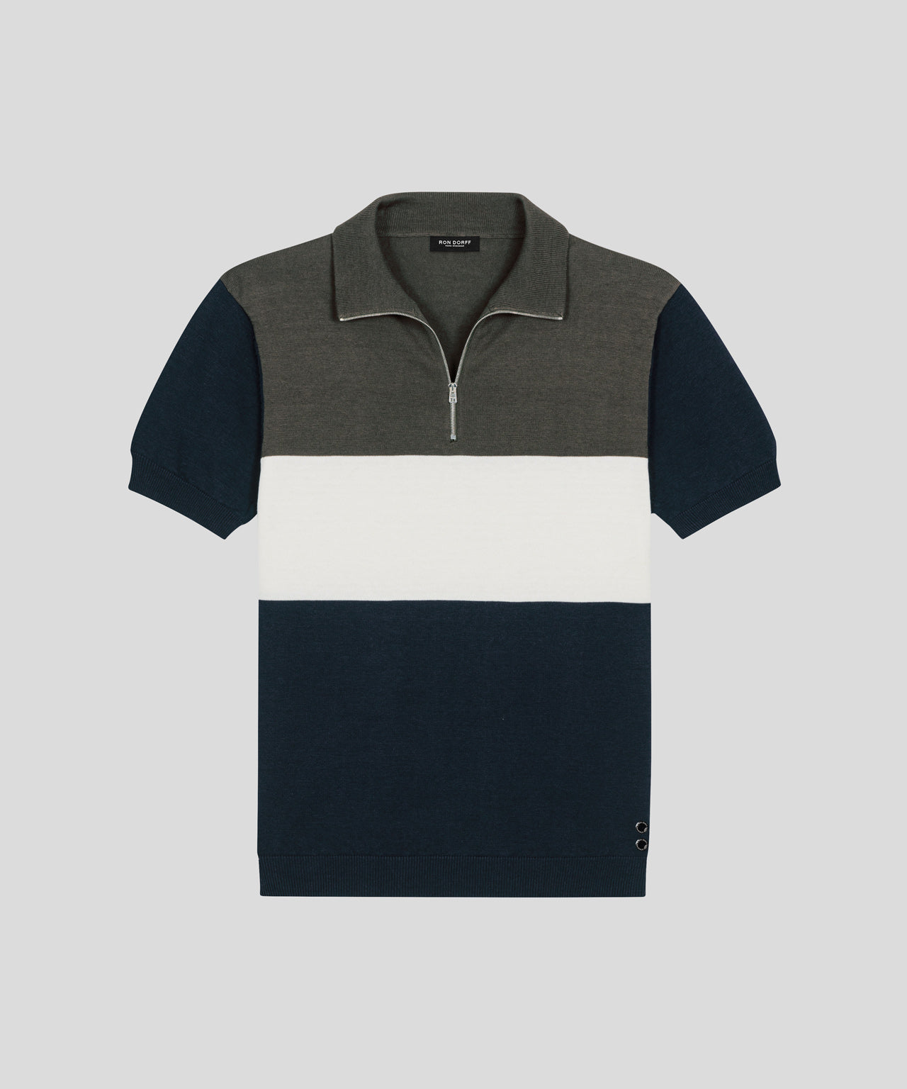 RD Polo - green camp/navy