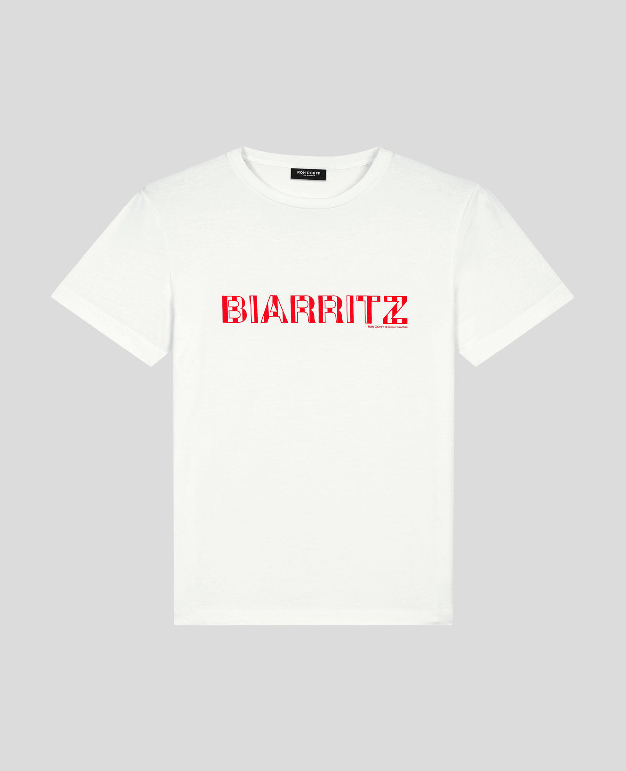 T-Shirt BIARRITZ - white