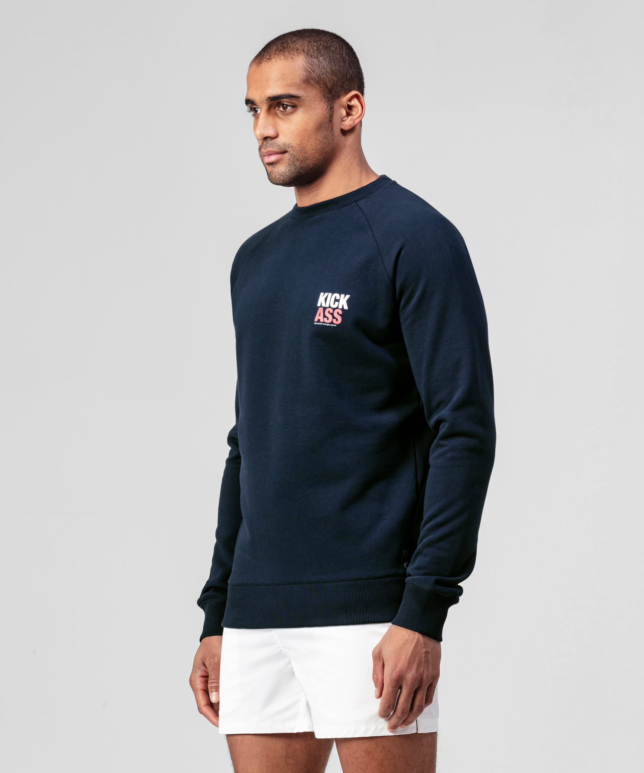 Sweatshirt KICK ASS - navy