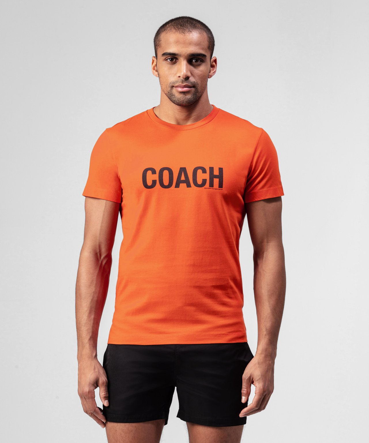 T-Shirt COACH - sunset orange