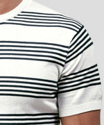 Knitted T-Shirt - off white