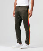Striped Tennis Trousers - green camp