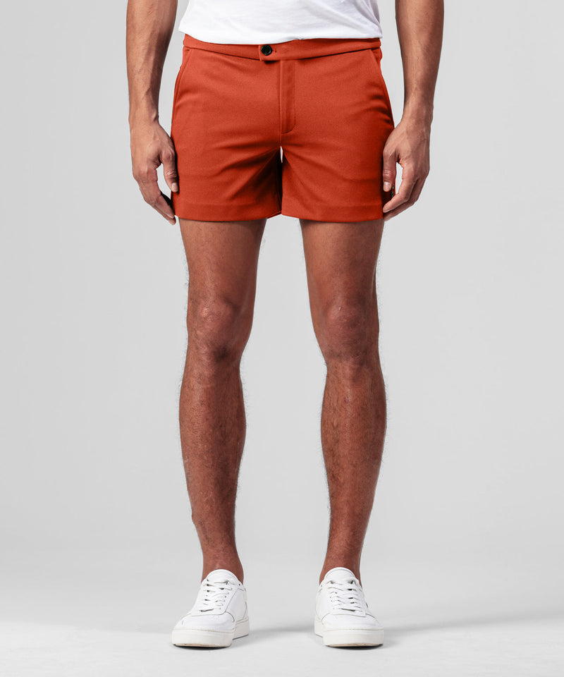 Tennis Shorts - sunset orange