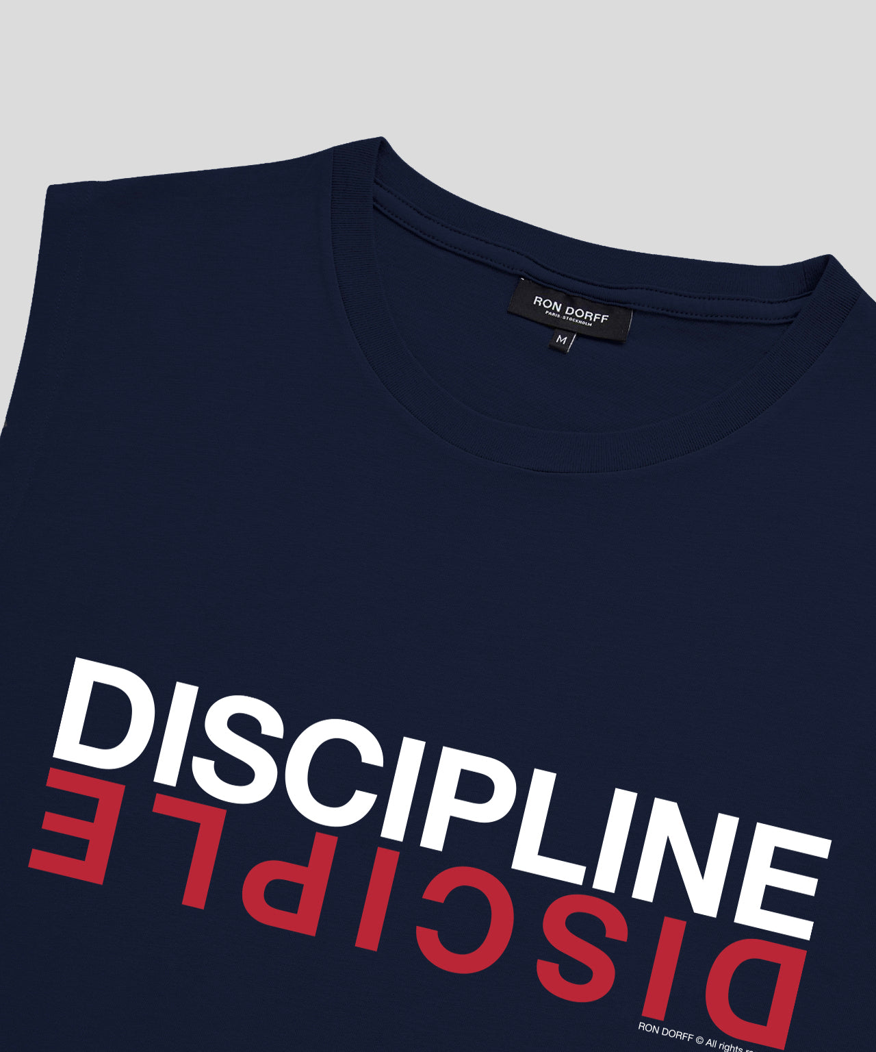 Sleeveless T-Shirt DISCIPLE - navy
