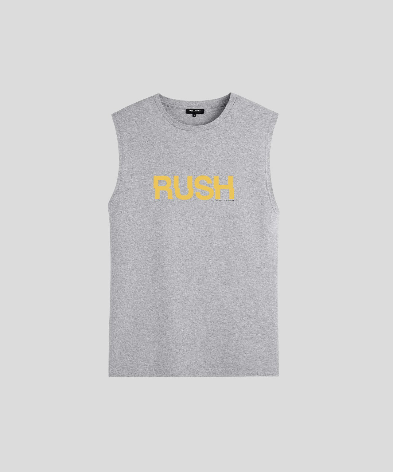 Sleeveless T-Shirt RUSH - grey melange