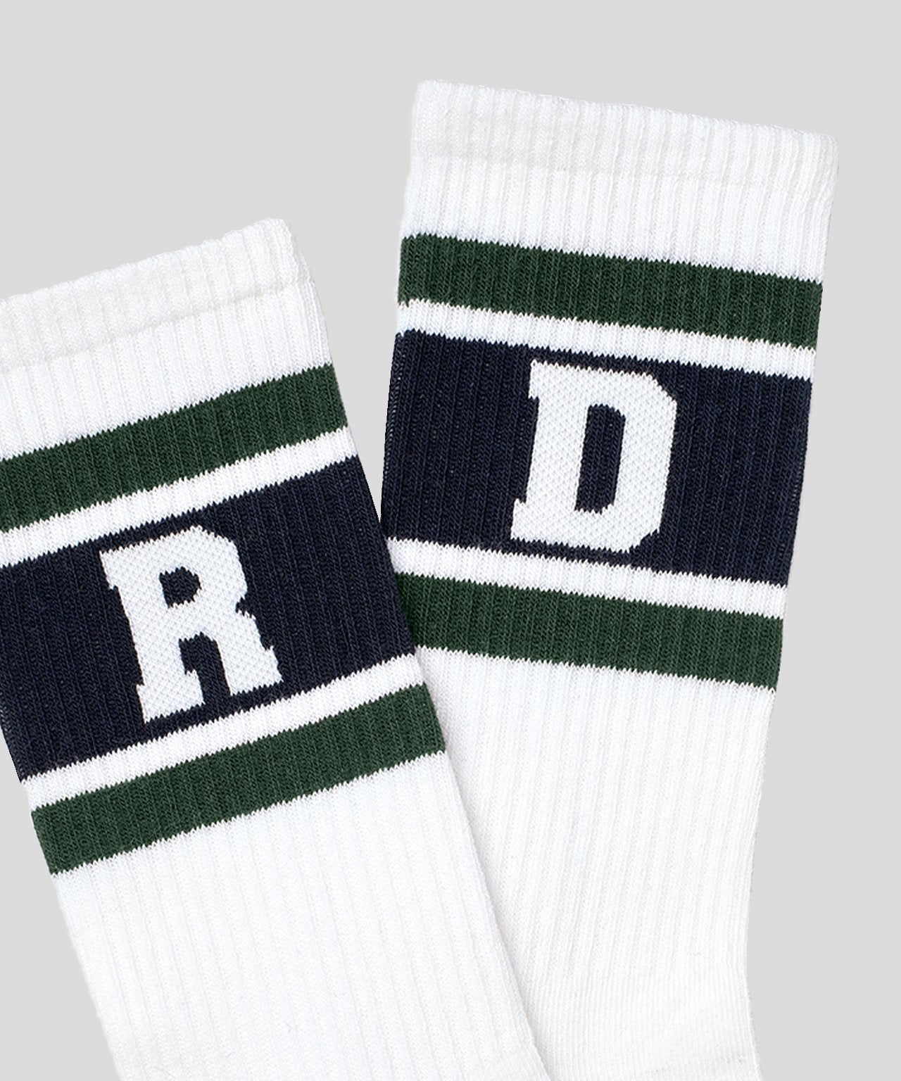 Socks RD Stripes - tyrol green