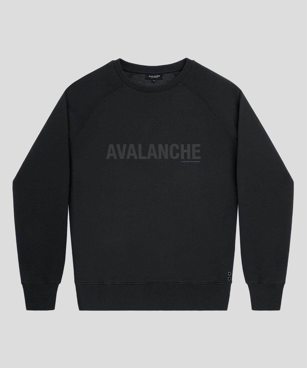 Sweatshirt AVALANCHE - black