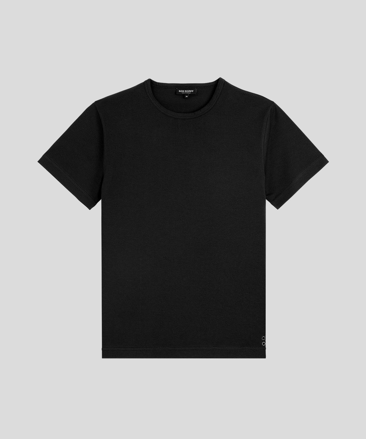 T-Shirt Eyelet Edition His For Her - black