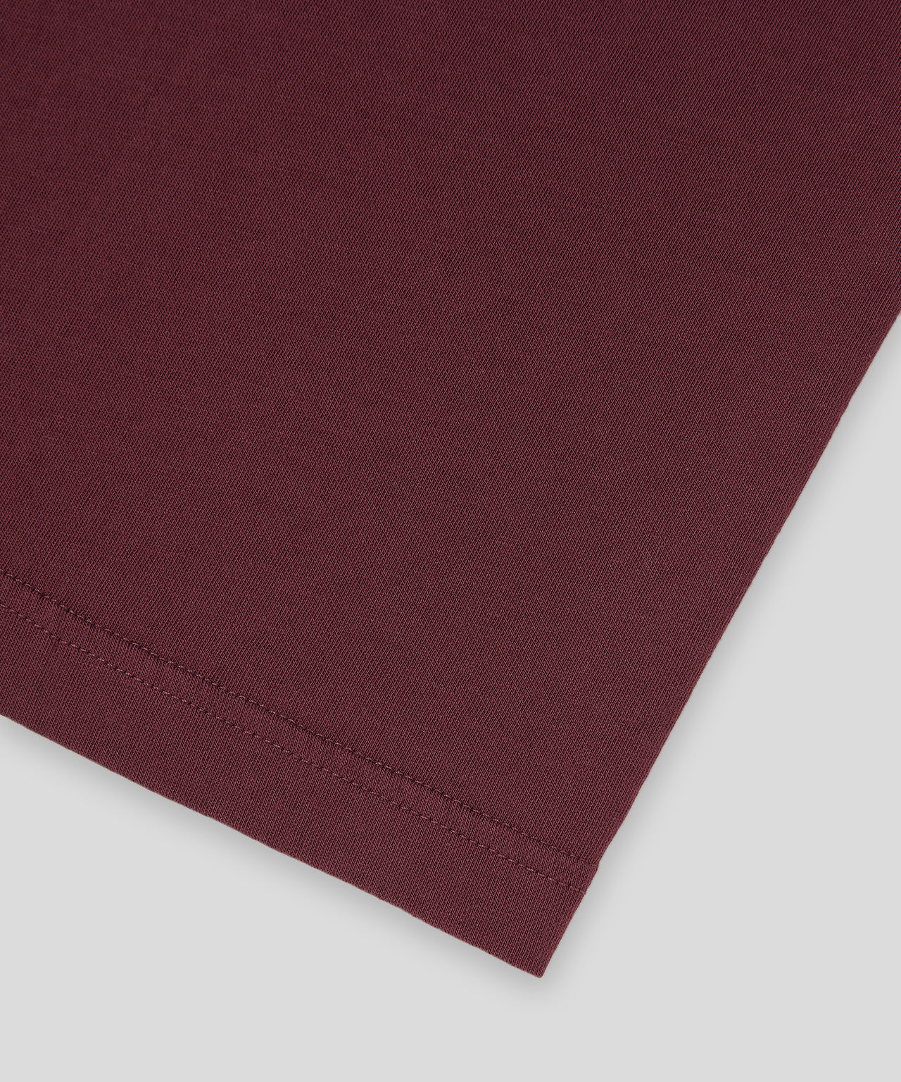 T-Shirt MOM - burgundy red