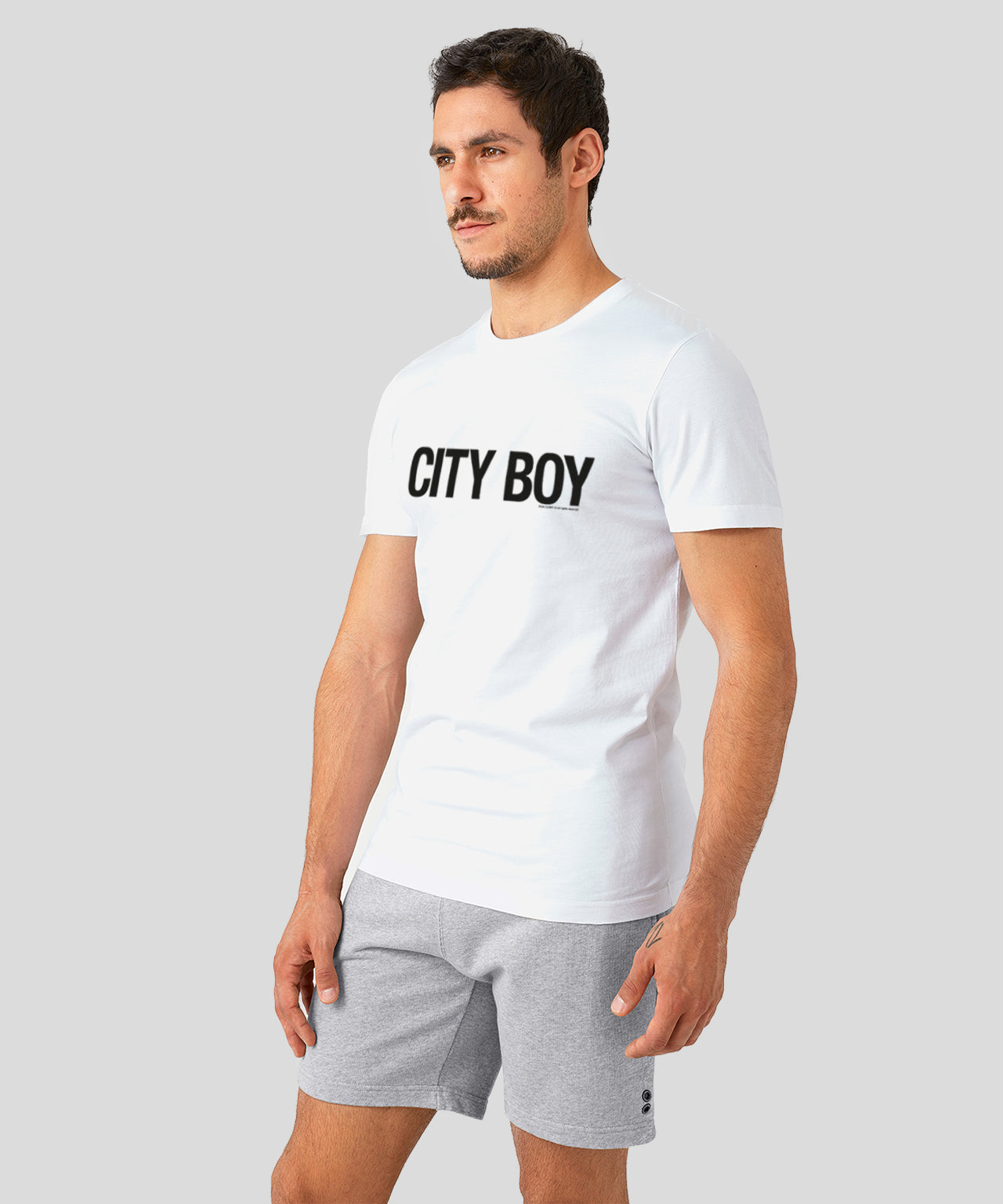 T-Shirt City Boy - white