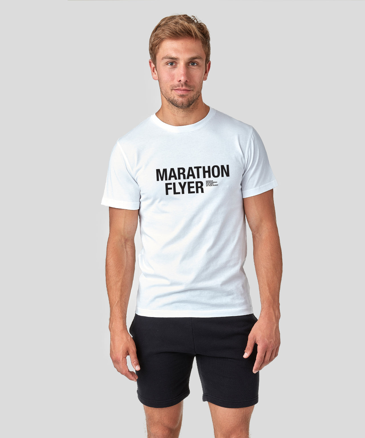 T-Shirt MARATHON FLYER - white