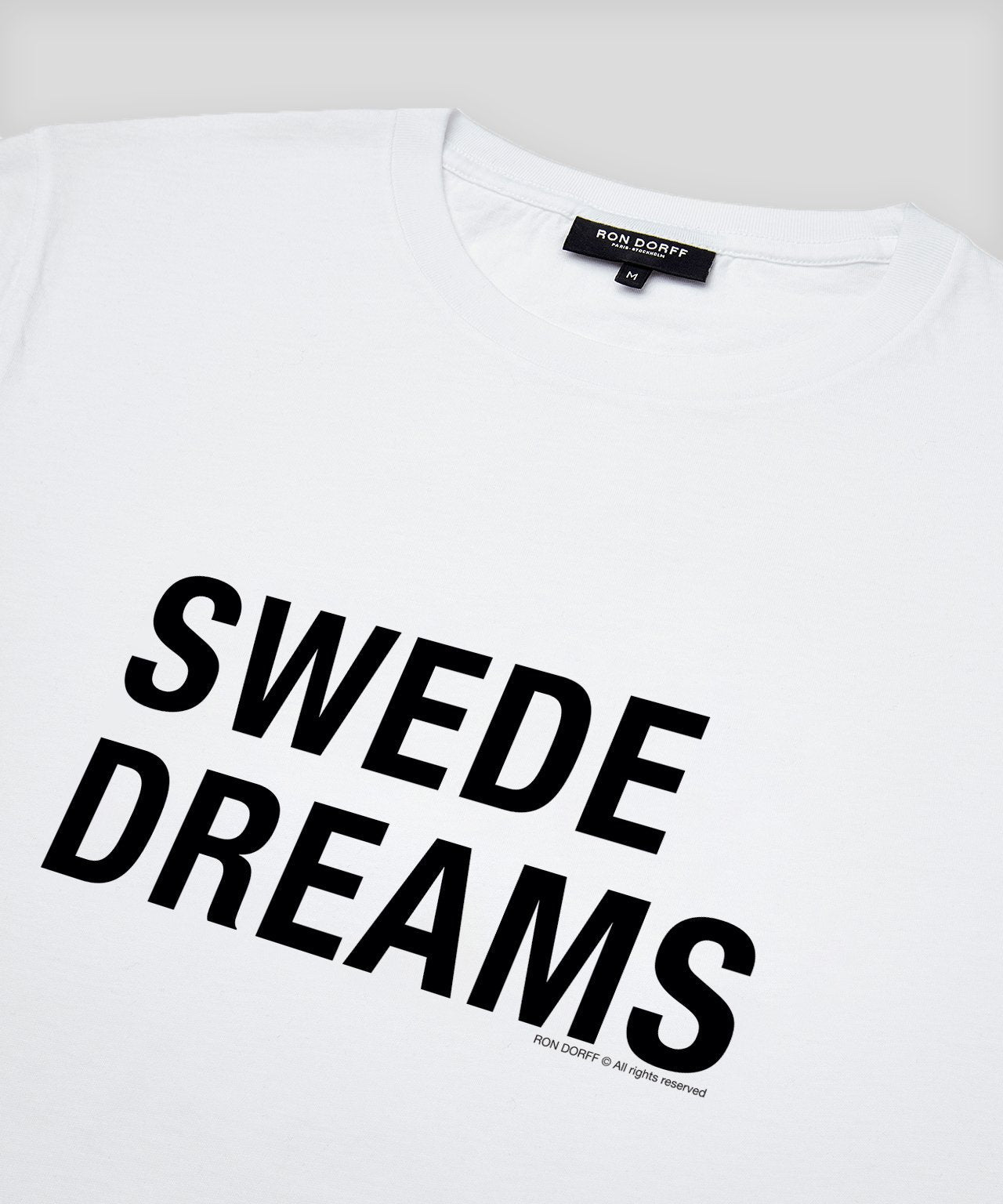 T-Shirt SWEDE DREAMS - white