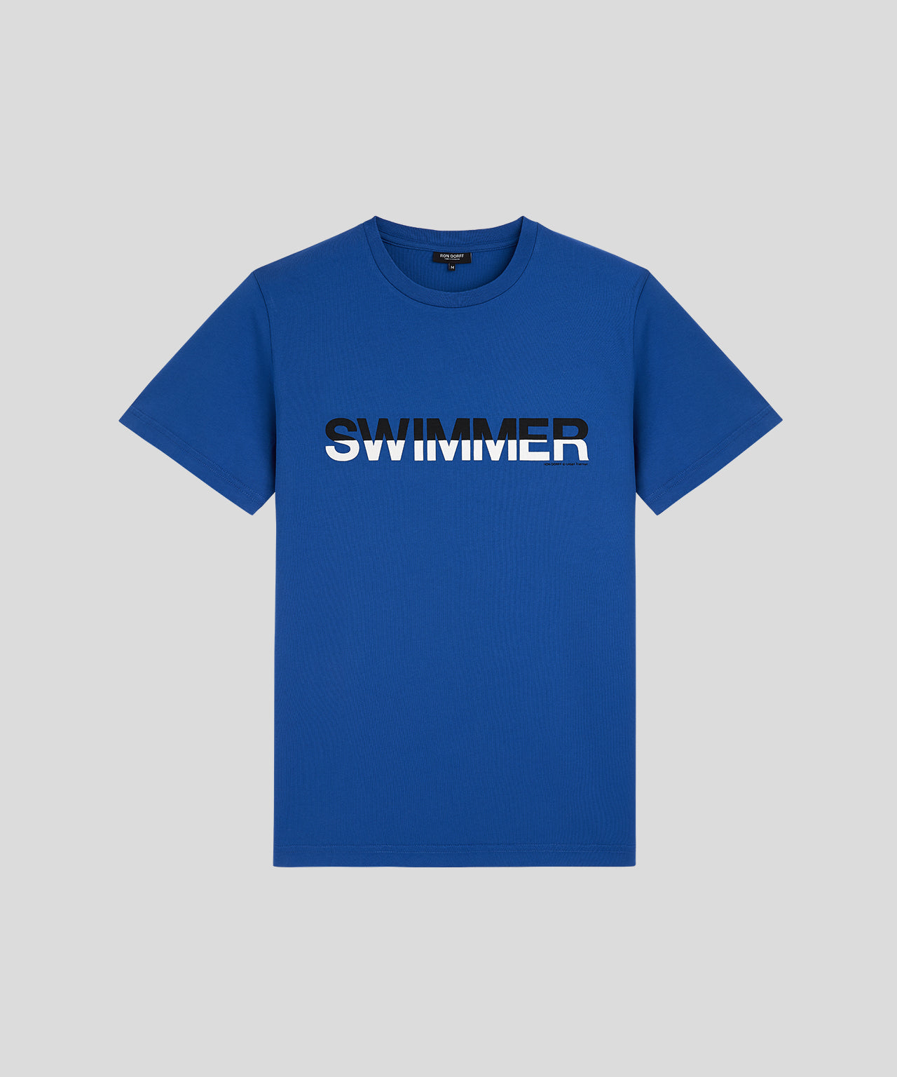 T-Shirt SWIMMER - electric blue