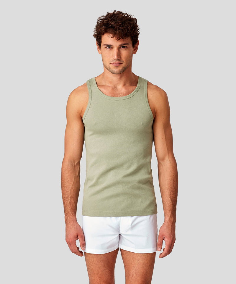 Underwear Tank Top - light khaki