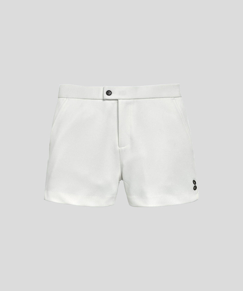 Tennis Shorts Piqué - off white