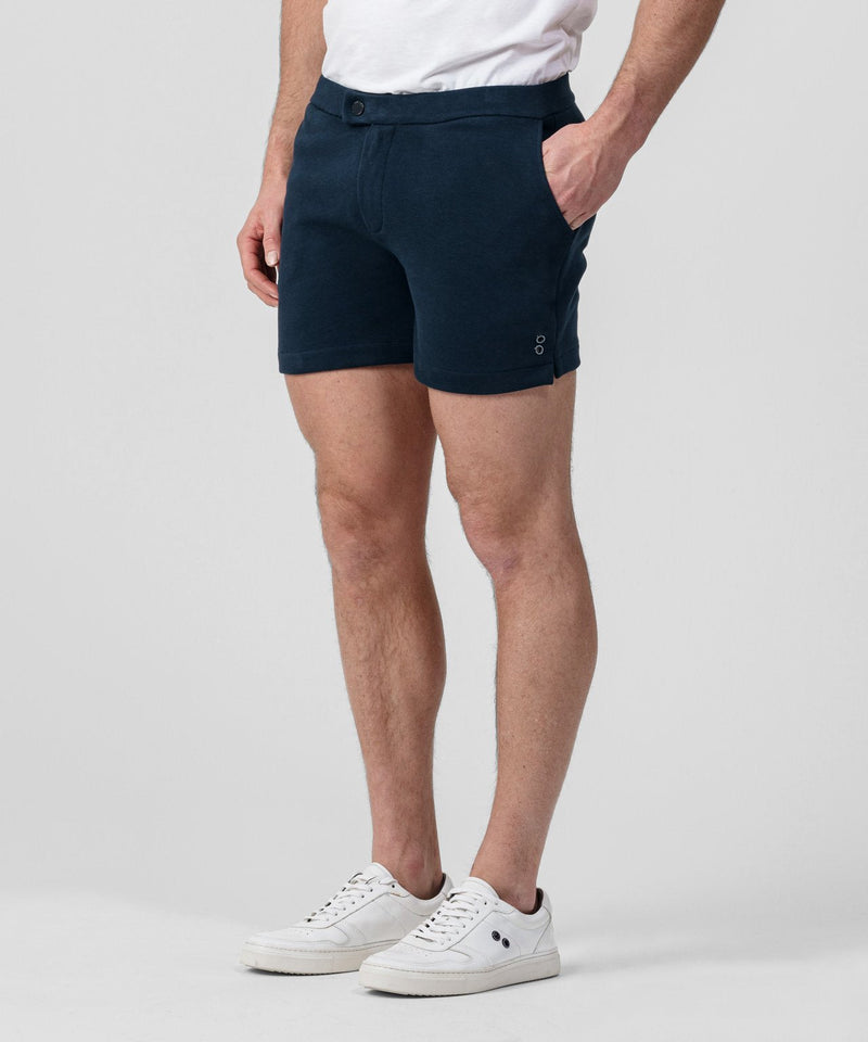 Tennis Shorts Piqué - navy