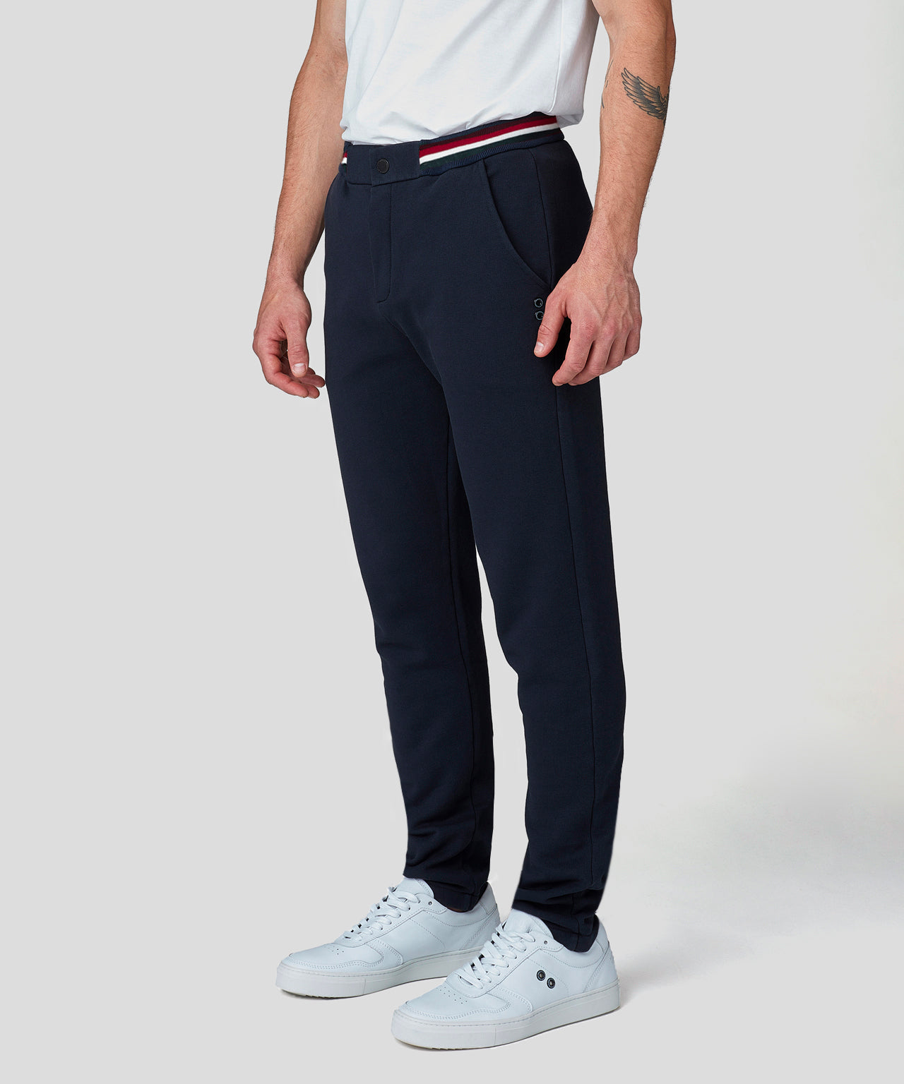 Urban Pants Waist Stripes - navy