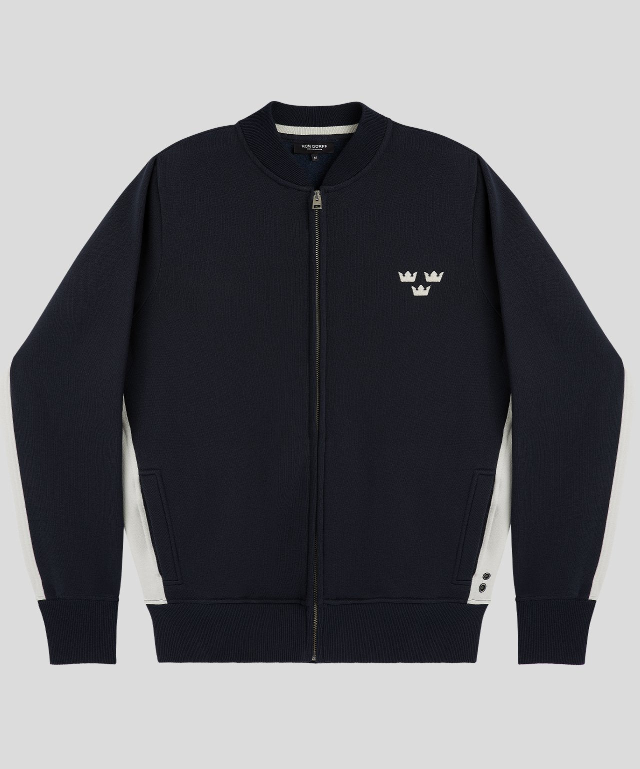 Zipped Tennis Jacket 3 Kronor - navy
