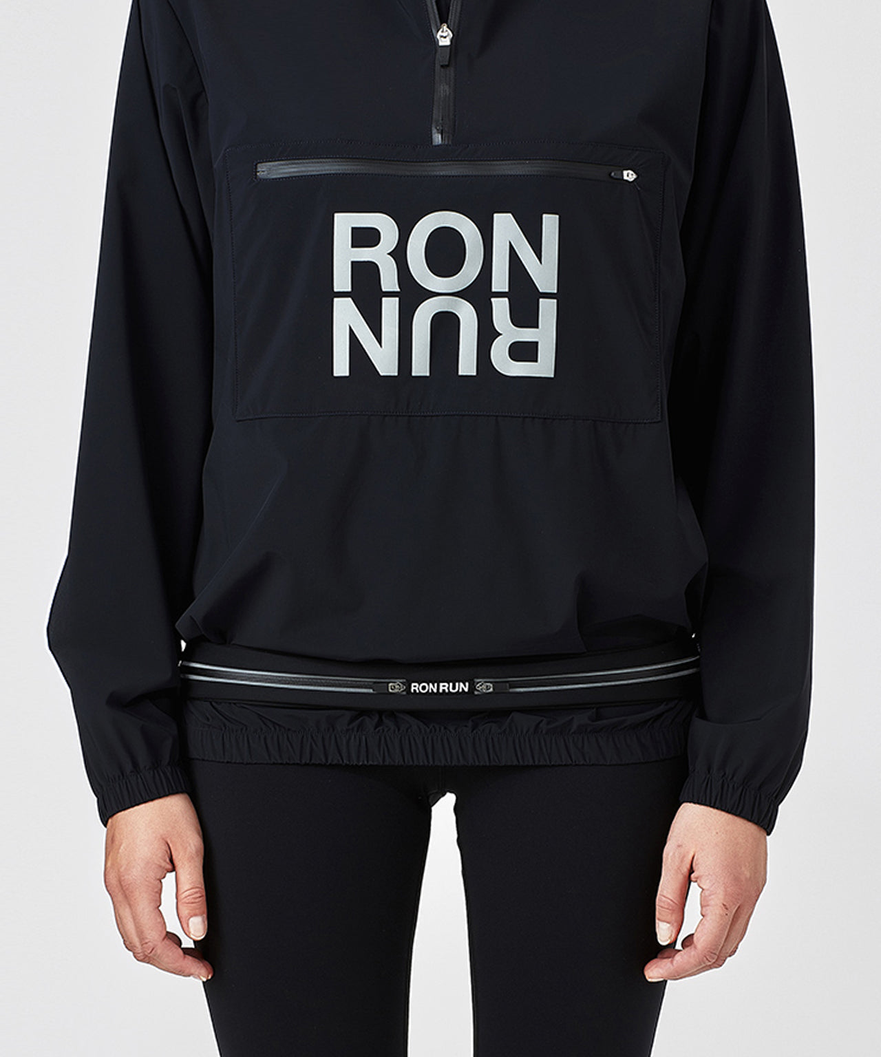 Running Belt RON RUN His For Her - black