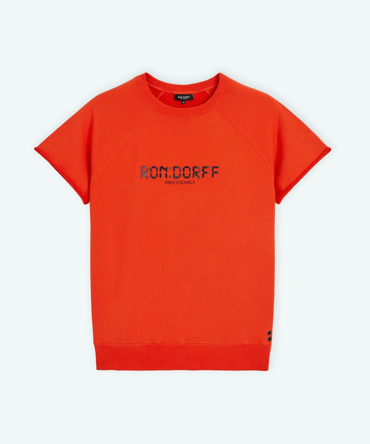 Short-Sleeved Sweatshirt RD Digital - shock orange