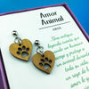 Aros Amor Animal - Aros - Altorrelieve Diseño Chile