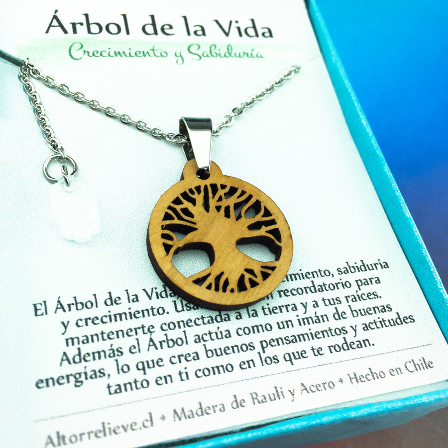 Collar Árbol de la Vida - Collar - Altorrelieve Diseño Chile