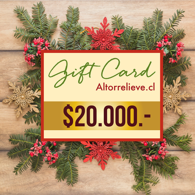 🎁 Gift Card $20mil - Gift Card - Altorrelieve Diseño