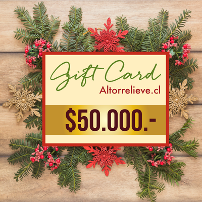 🎁 Gift Card $50mil - Gift Card - Altorrelieve Diseño