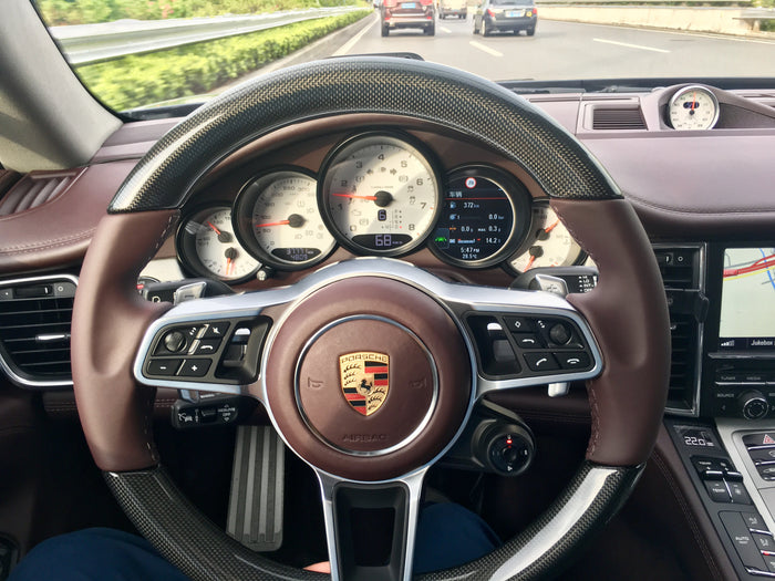 2014 Panamera upgrade 971 steering wheel